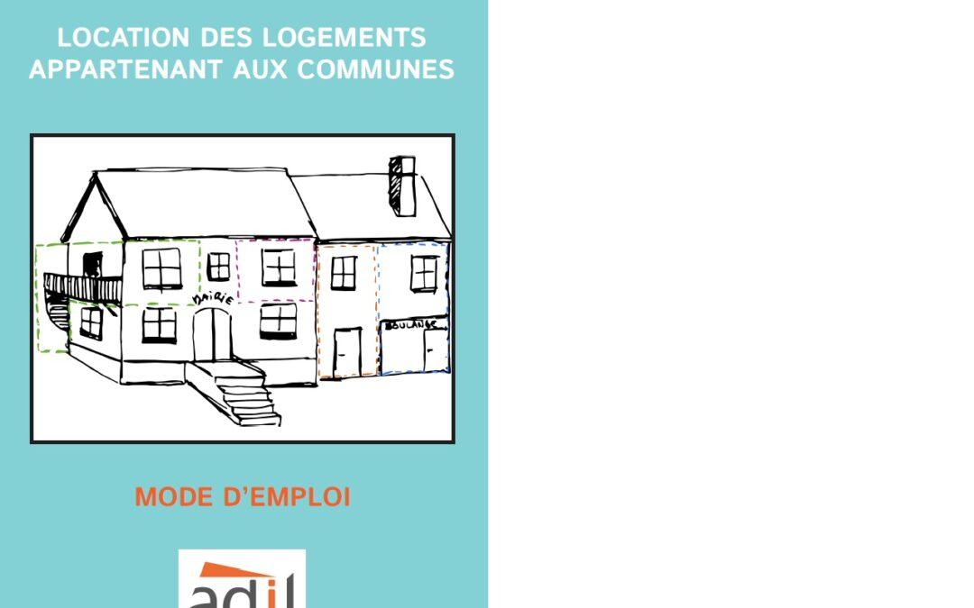 Location des logements communaux – Mode d'emploi